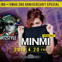 MINMI KING∞XMHU 2nd ANNIVERSARY PARTY × MINMI LIVE TOUR2018