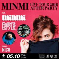 MINMI ライブツアー2018福岡アフターパーティー