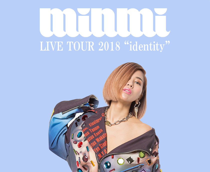 identity MINMI TOUR ツアー