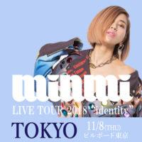 tokyo 東京 identity MINMI TOUR ツアー