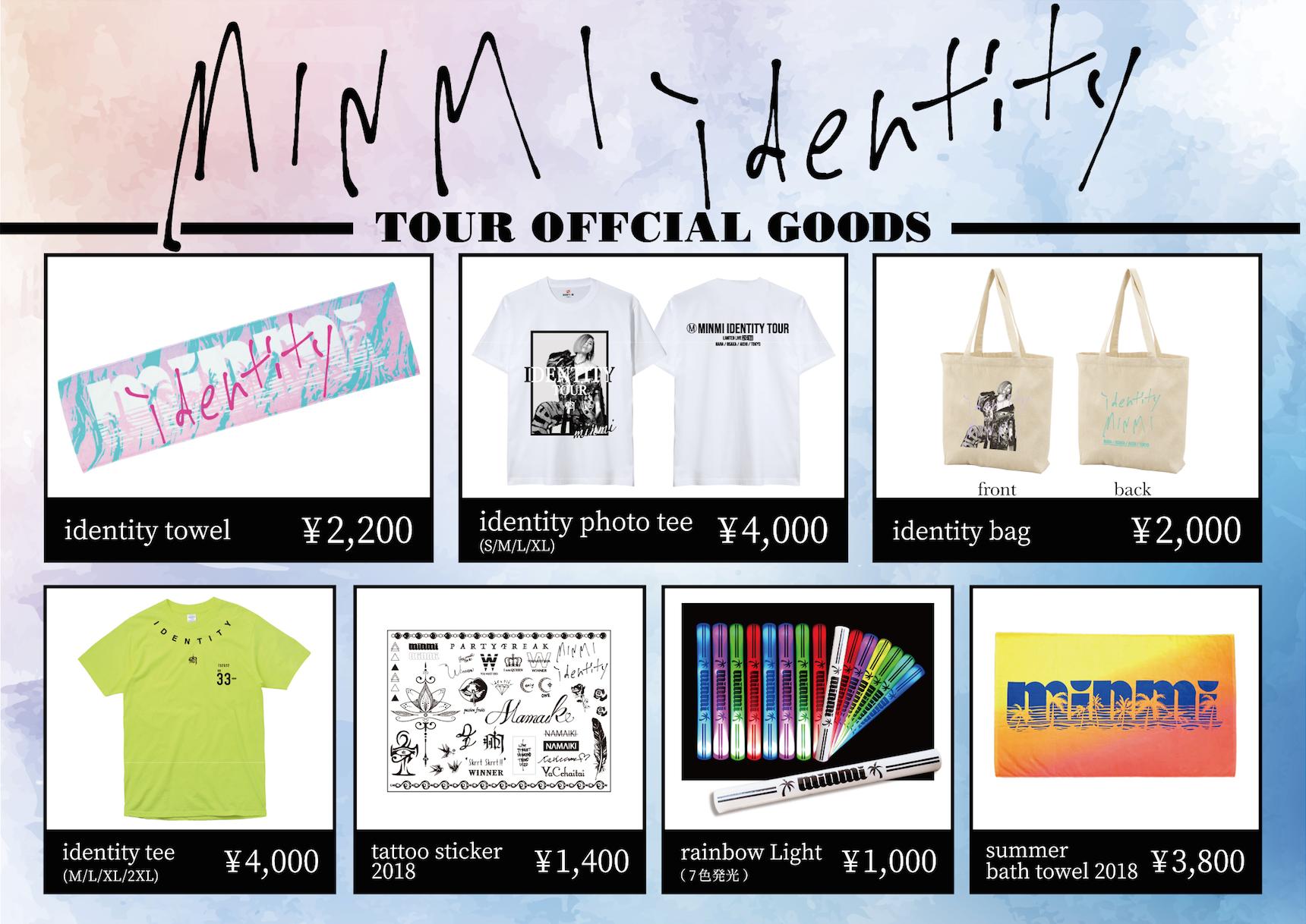 minmi tour goods