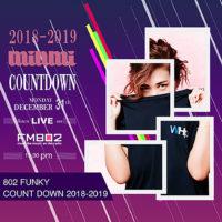 MINMI COUNTDOWN カウントダウン2018 和歌山 FM802