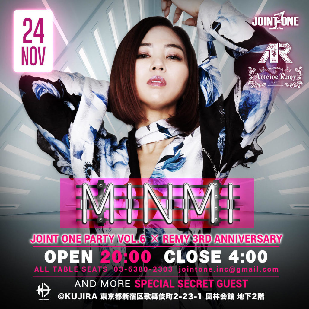 JOINTONE PARTY ✖︎ REMY anniversary minmi
